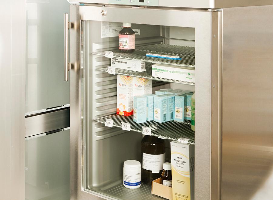 lääkejääkaappi apteekkiin